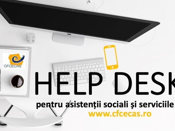 HELP-DESK pentru serviciile sociale și pentru asistenții sociali – COVID 19